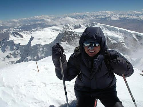 Happiness on the summit