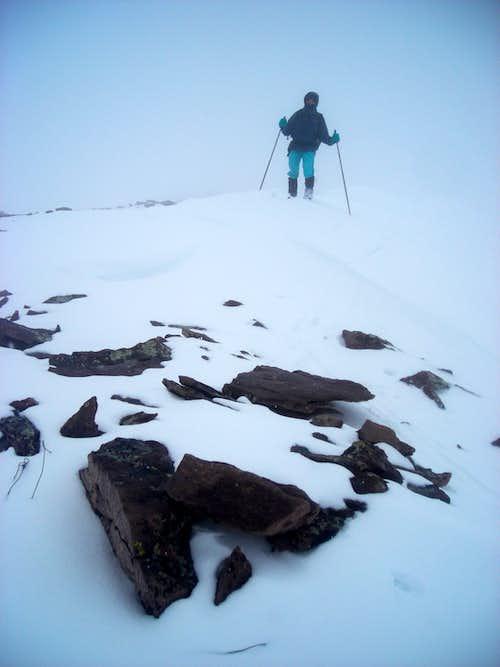 North Burro summit