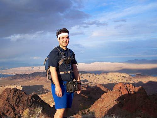 Myself on Redstone Peak