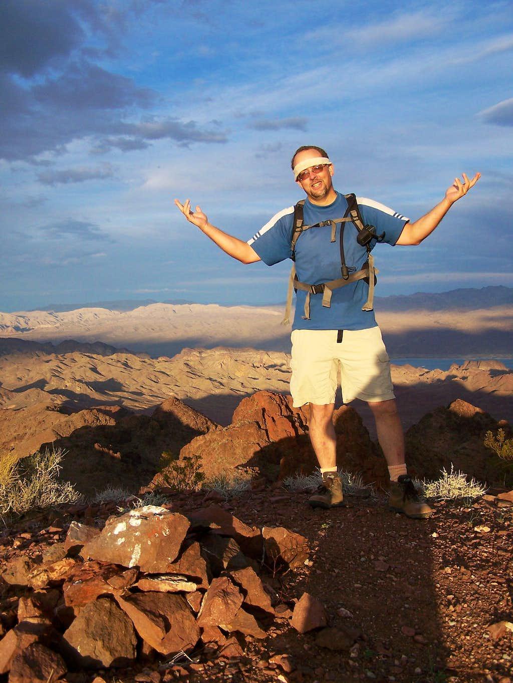 Summit Shot on Redstone Peak