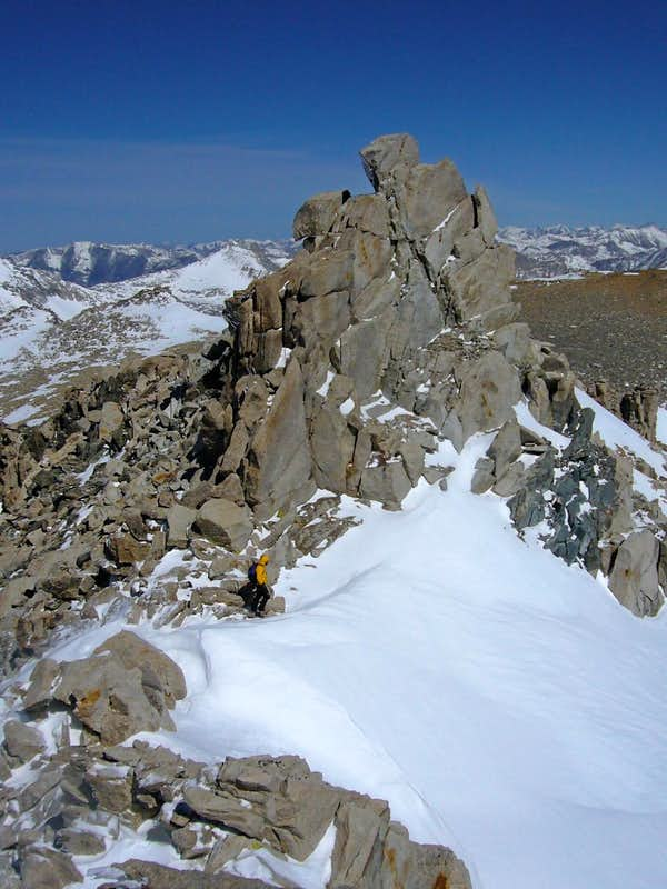 Circumnavigating Summit Block