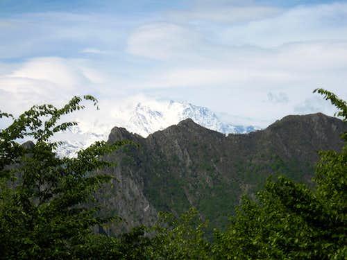 Monte Rosa from the Casa dell'Alpino