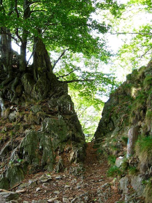 The rocky pass