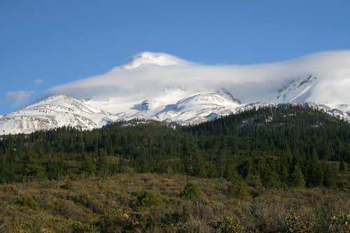 Mt. Shasta from the Bolam Trailhead
