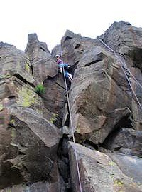 K climbing Saturday