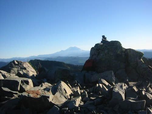 Summit of McCellans Butte...