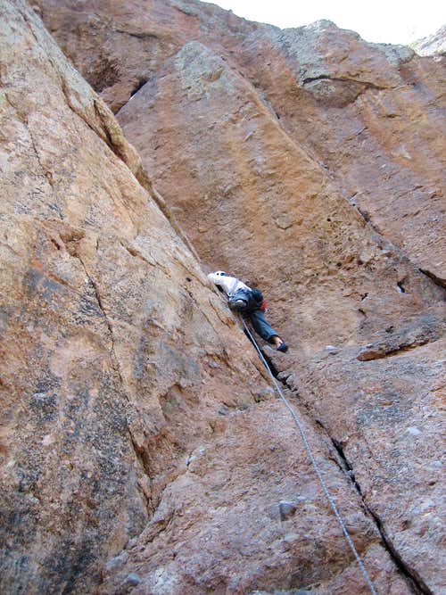 Swallow Crack, 5.6