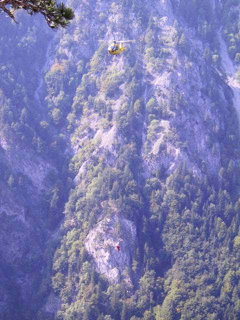 Mountain Rescue - Helicopter