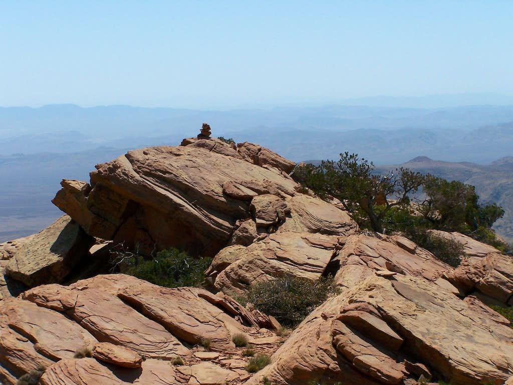 Summit of Windy Peak