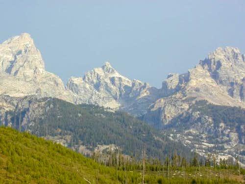 Grand Teton, Mt. Owen,...