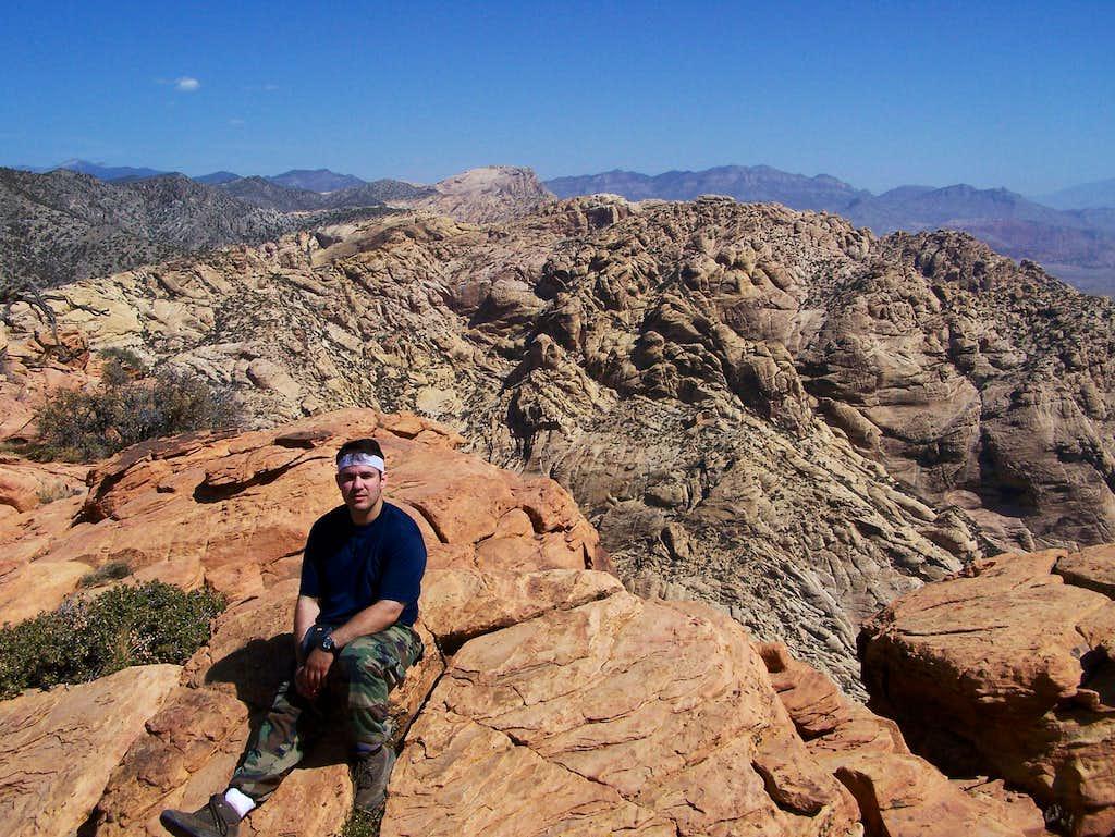 Myself on Windy Peak