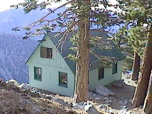 Sierra Club Ski Hut on Mt...