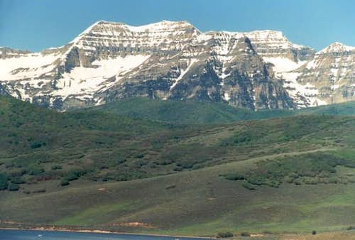 Mount Timpanogos as seen from...