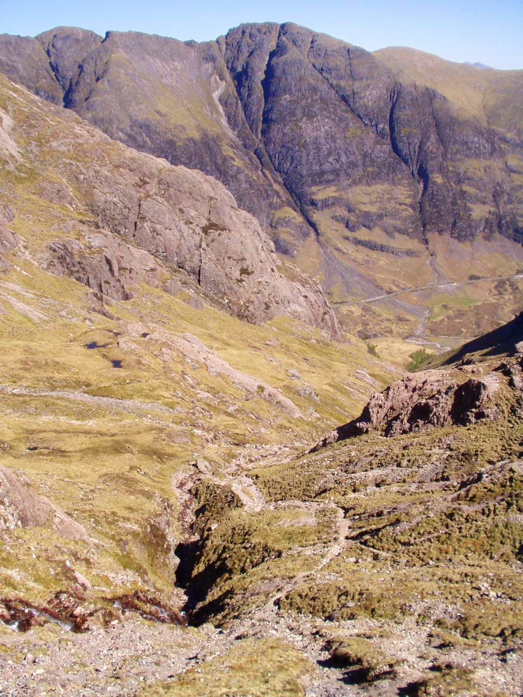 view from Coire nan Lochan