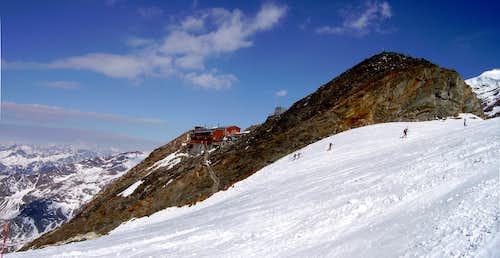 Capanna Gnifetti  - m.3647 - Monte Rosa (Italia - Aprile 2007)