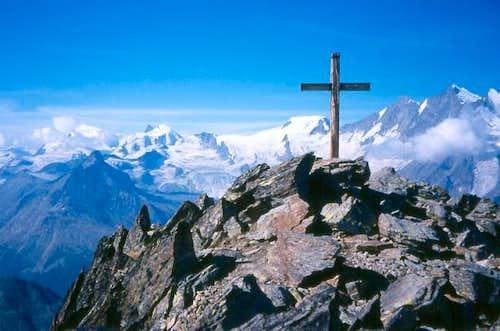 The Jägihorn summit, 3206 M.