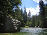 Muir Rock and the Kings River