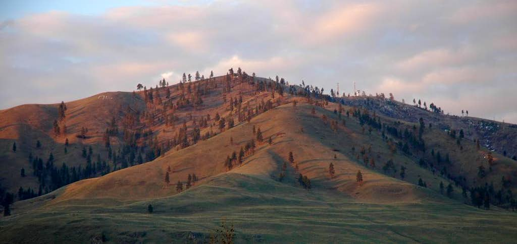 Chelan Butte in the Morning