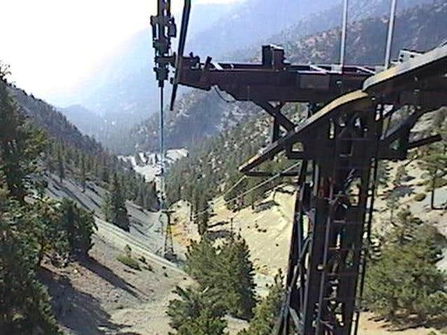 The Mt. Baldy Ski Lift.