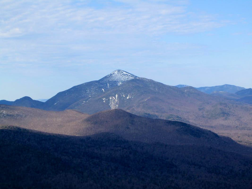 The view from Cascade Mountain
