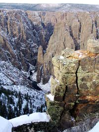 January view from Oak Flat Trail