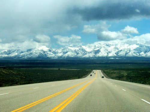 Ruby Mountains from SR 227