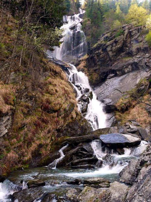 Cascata del Lenteney - La Salle