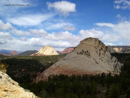Red Butte, Pine Valley Peak and Northgate