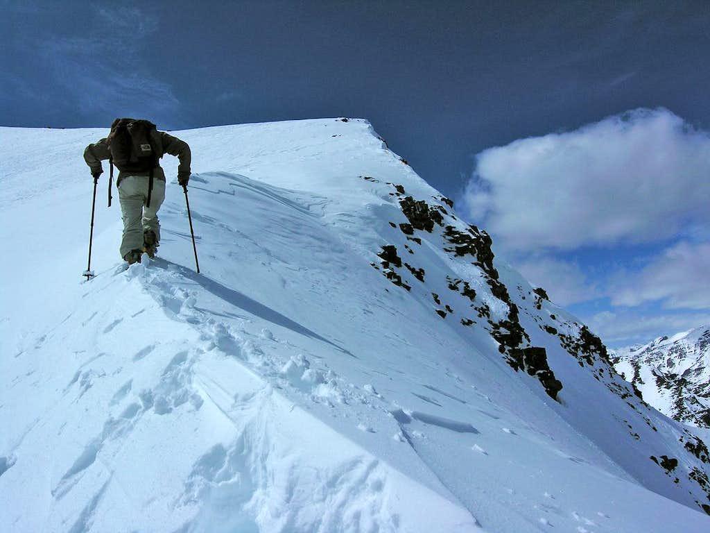 Summit ridge St. Piran