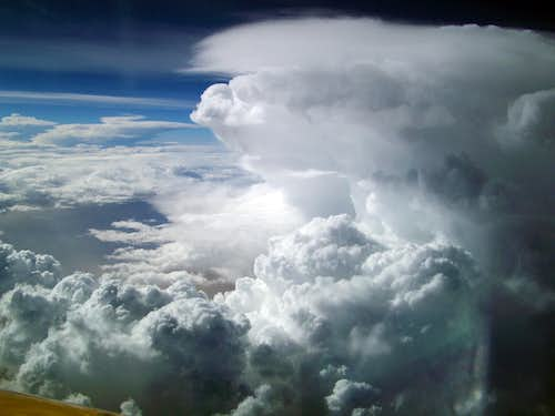 Storm Over The Alps