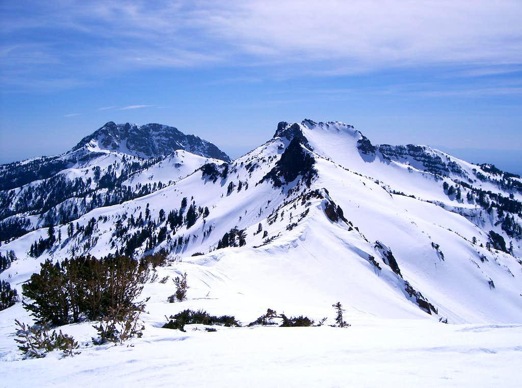 View SouthWest form Ski Heil Peak