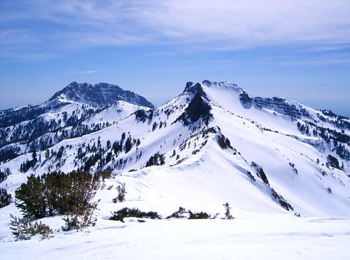 View SouthWest form Ski Heil Peak