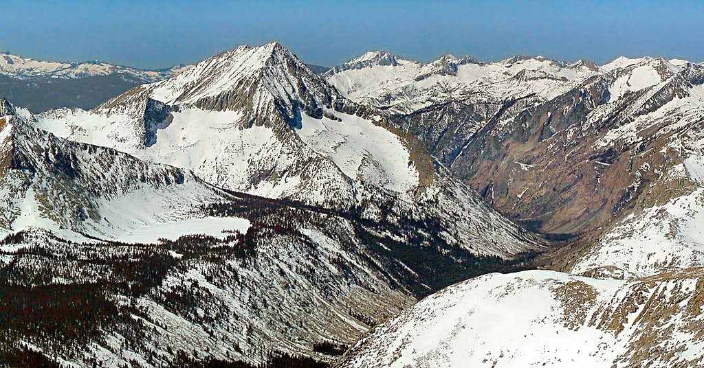 Arrow Peak from Cardinal