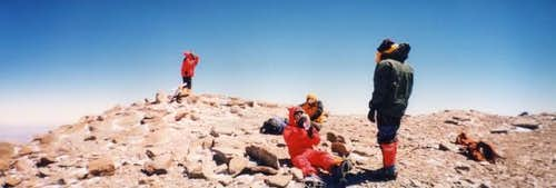 The first four summiters of...