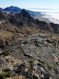 Looking towards Cobb Peak