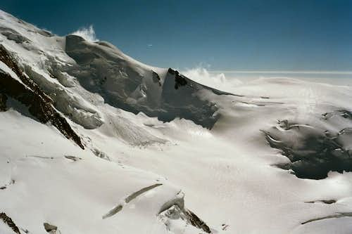 Bossesridge on Mont Blanc