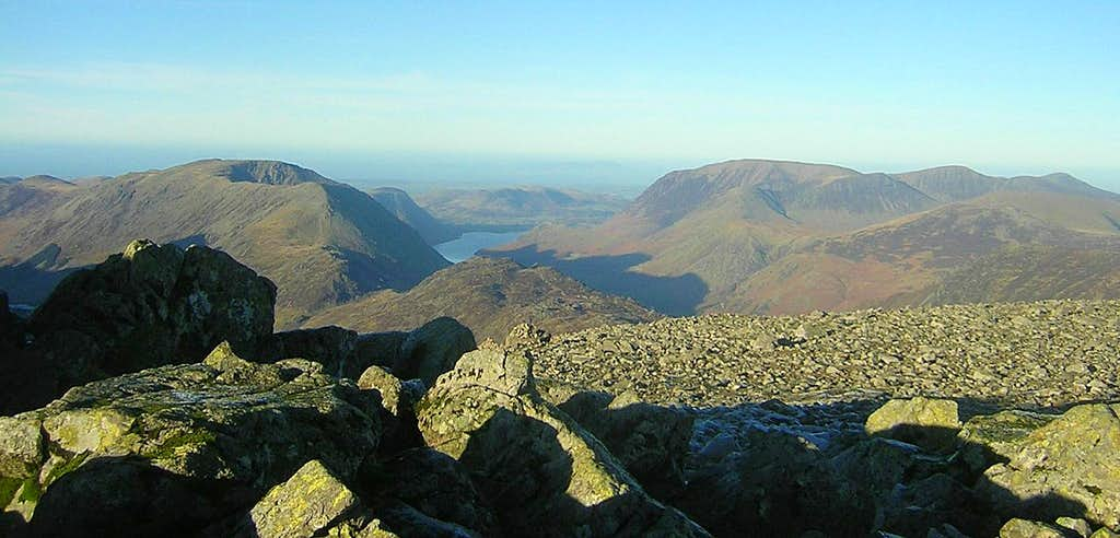 Great Gable Summit View