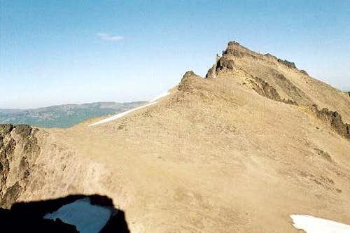 Summit ridge of Curtis...