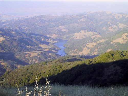 Almaden Lake from Bald Mountain