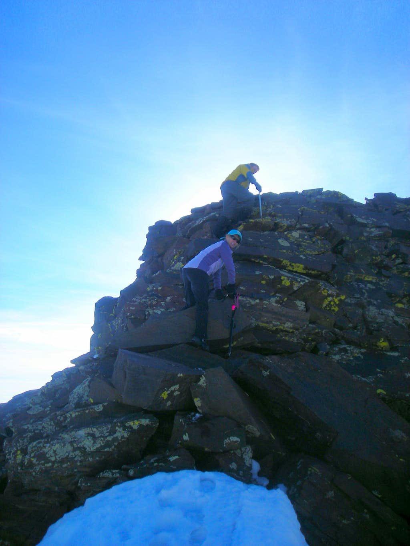 West Ridge of Dromedary