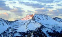 Alpenglow on White Baldy