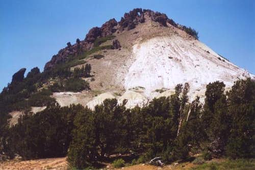 Eastern face of Grizzly Peak,...