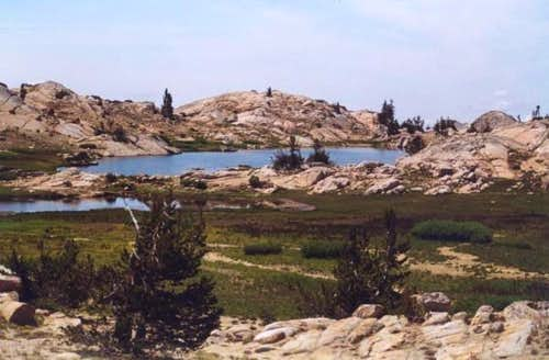 Grizzly Peak Lakes