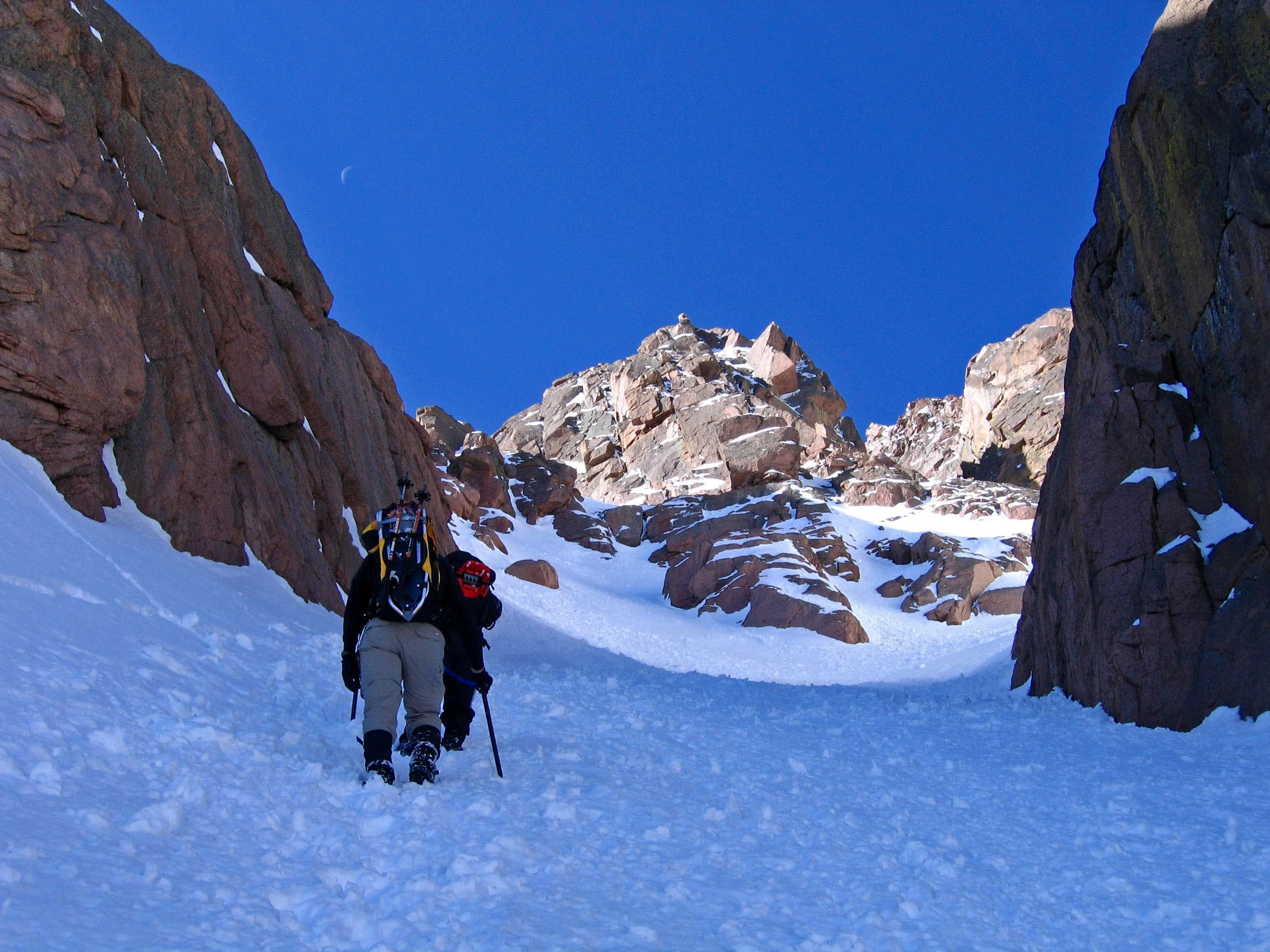 Pikes Peak Y Couloir: The Sequel