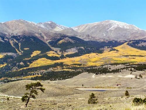 Mt. Elbert from Twin Lakes...