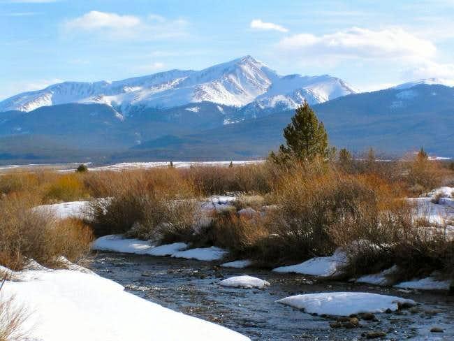 Mt. Elbert from just west of...