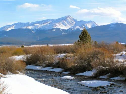 Mt. Elbert from just west of...