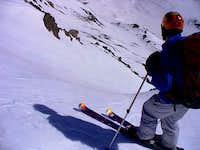 Gahugafuga preparing to descend