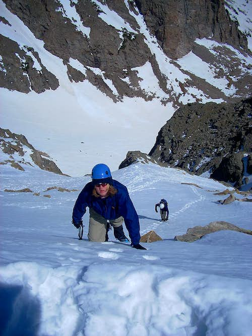 Topping Out - NW Gully
