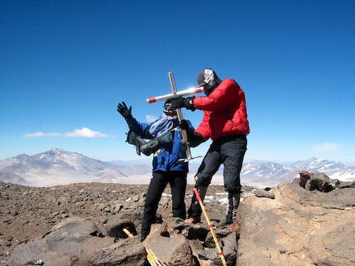Pissis summit